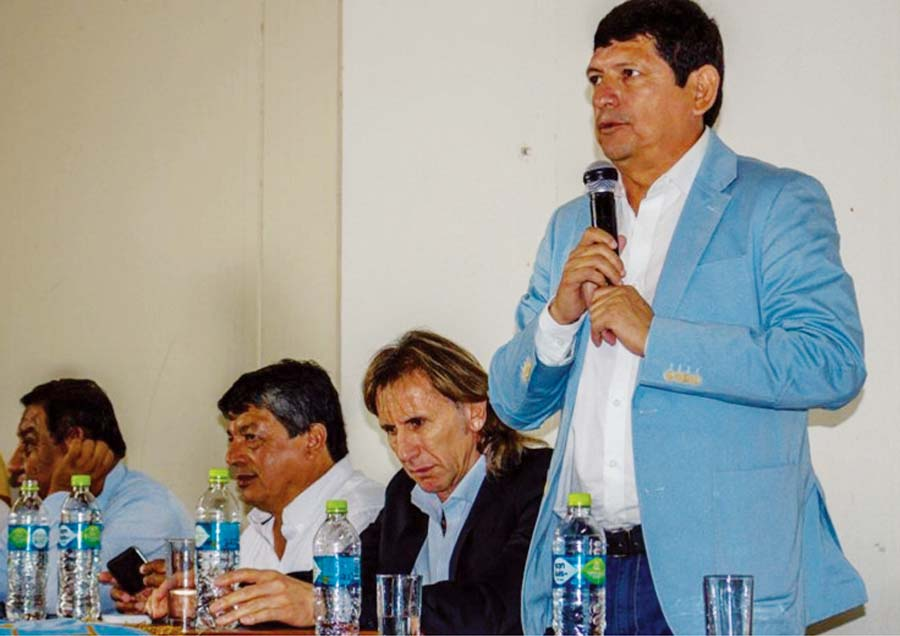 Agustín Lozano, vicepresidente de la FPF