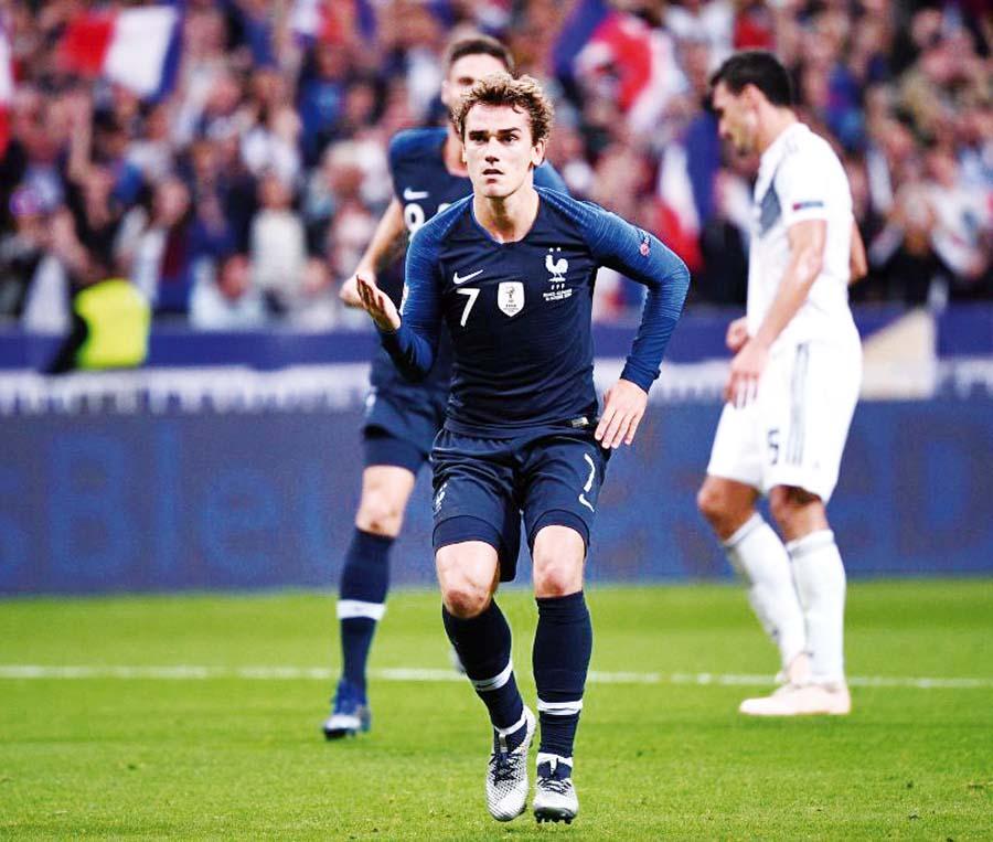Francia le ganó 2-1 a Alemania