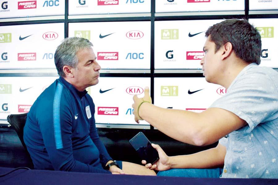 Pablo Bengoechea espera que los hinchas recuerden su paso por Alianza