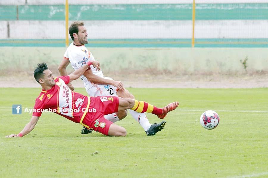 Sport Huancayo recibe hoy al Ayacucho FC