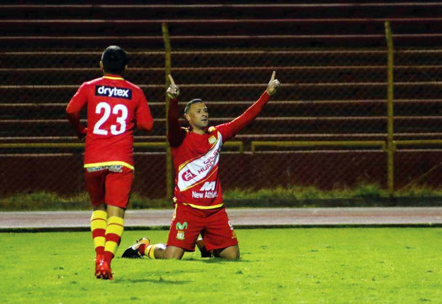 Sport Huancayo y Ayacucho FC empataron 3-3
