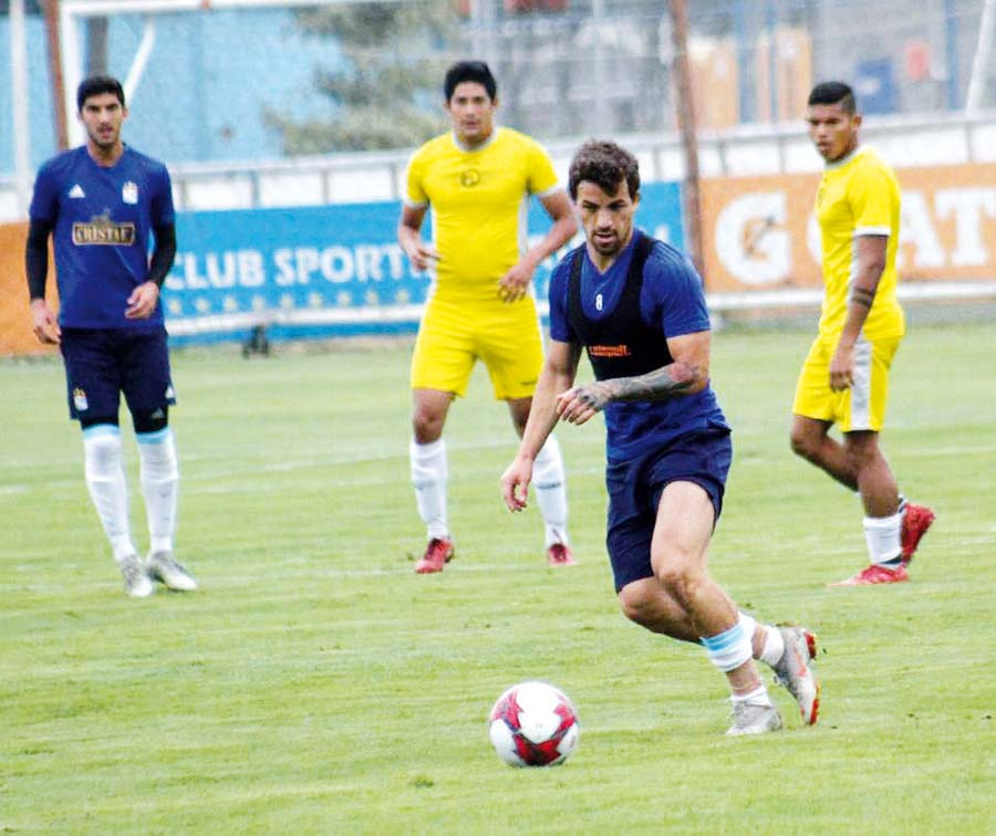 Sporting Cristal goleó en amistoso 5-1 a Sport Victoria