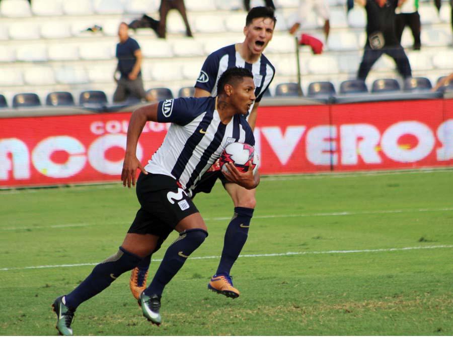 Adrianzén y Affonso así festejaron el empate transitorio
