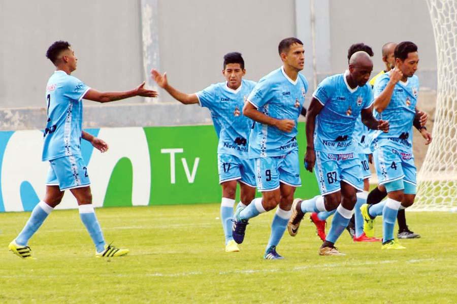 Binacional de visita en Huaraz superó 2-0 a Sport Rosario