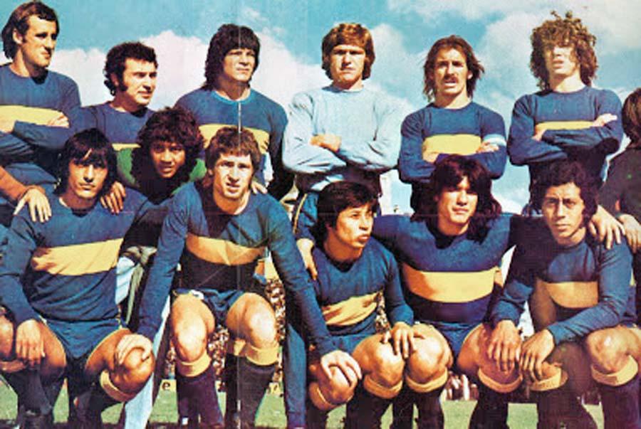 Este es el equipo del Boca de 1975