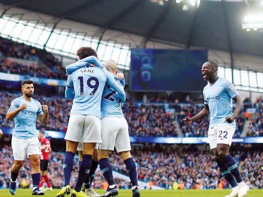 Manchester City goleó 6-1 al Southampton