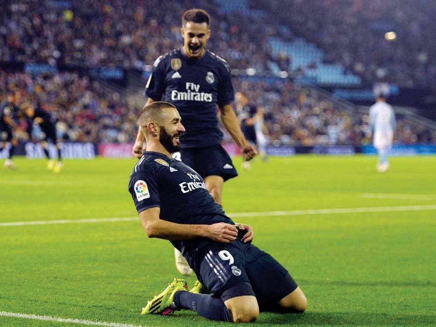 Real Madrid derrotó 4-2 a Celta de Vigo