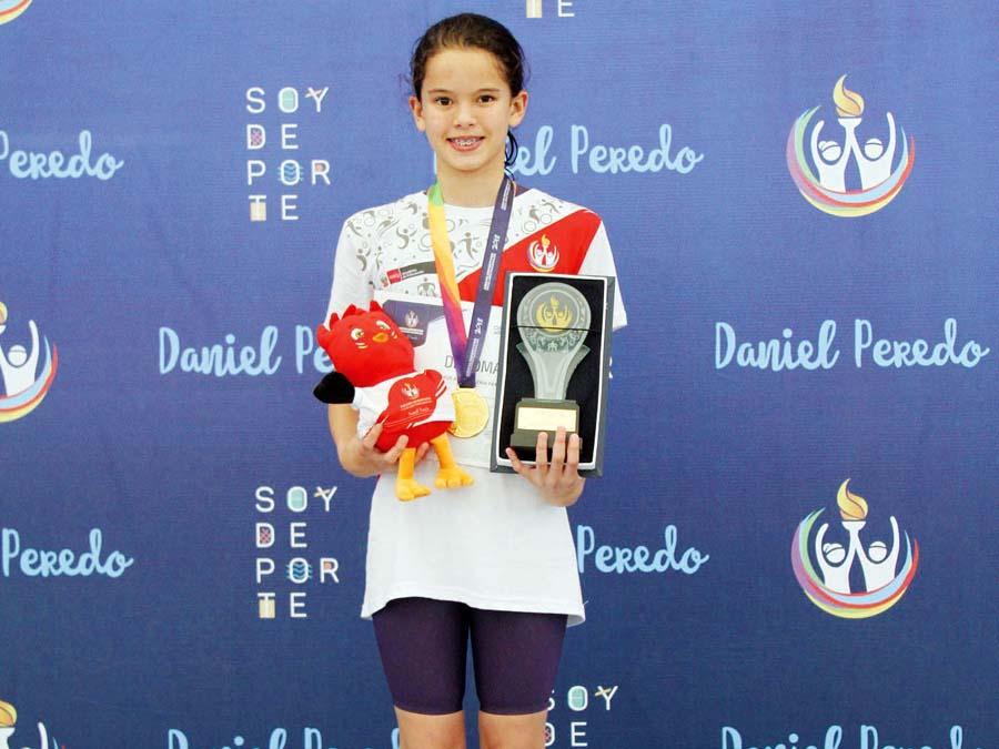 Alexia Sotomayor batio record