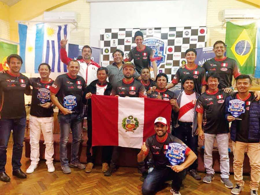 Campeón Sudamericano de Motos Acuáticas