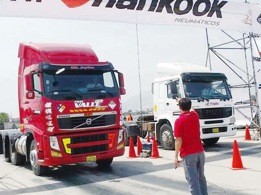 Fórmula Trucks Piques ¼ de Milla de Camiones