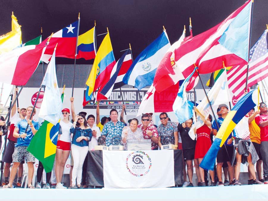 Juegos Panamericanos de Surf