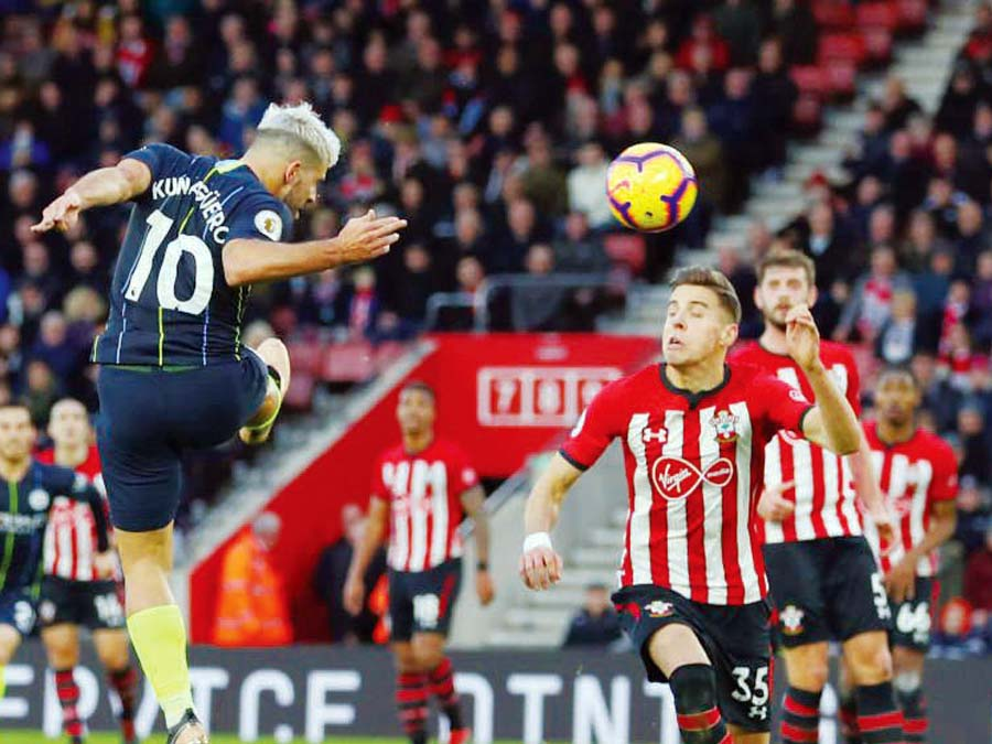 Manchester City venció de visita 3-1 al Southampton