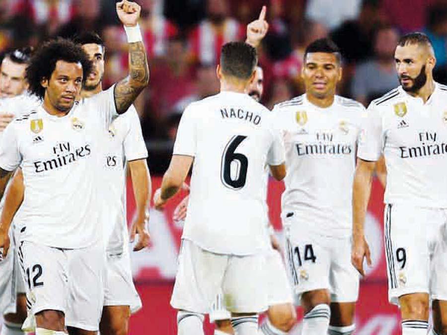 Real Madrid se enfrenta al Kashima de Japón