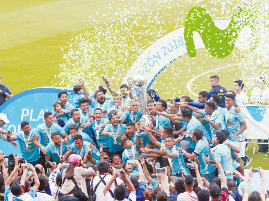 Sporting Cristal campeón