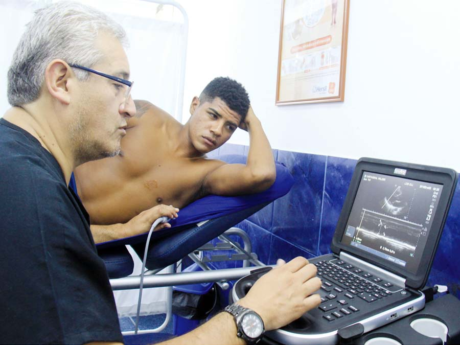 Alianza Lima exámenes médicos