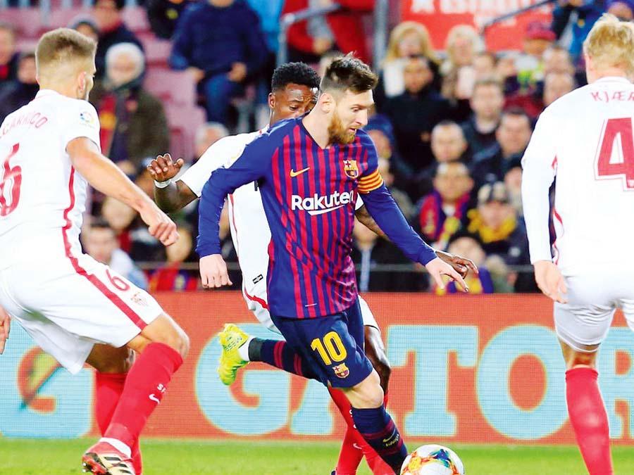 Barcelona venció 6-1 al Sevilla