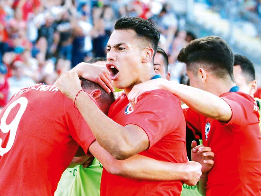 Chile ganó a Brasil 1-0