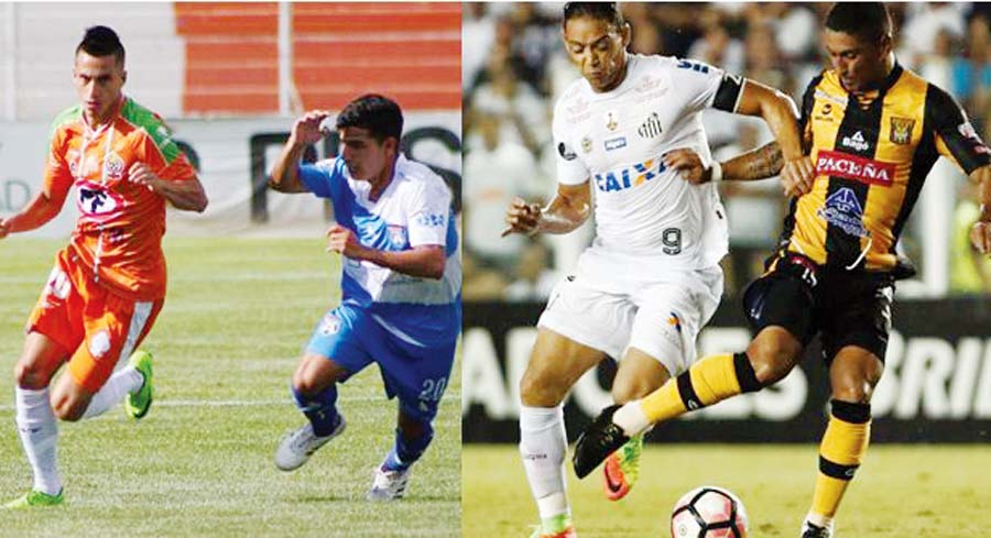 Chileno Carlos Ross y el uruguayo Luis Maldonado