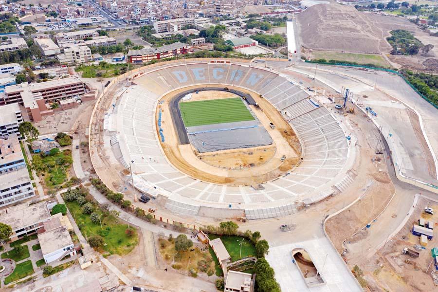 Estadio de la Universidad Nacional Mayor de San Marcos