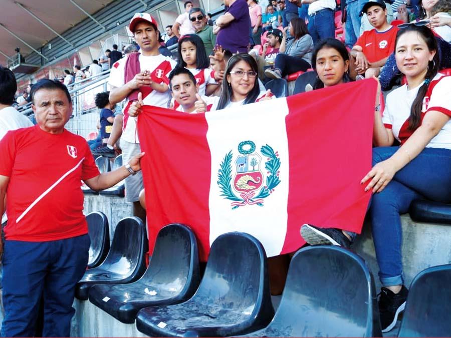 Hinchas peruanos en Santiago de Chile, Sudamericano Sub 20