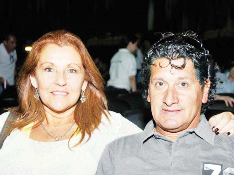 Jua Carlos Letelier con su compañera de toda la vida