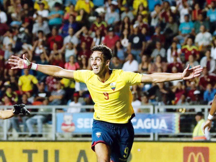 Ecuador ganó 1-0 aColombia