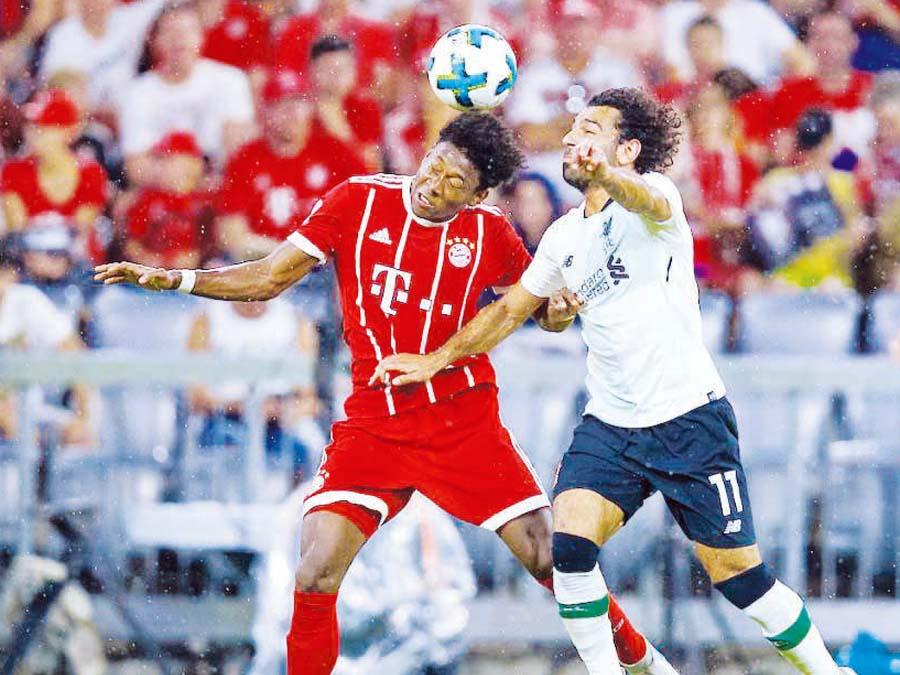 Liverpool y Bayern Munich