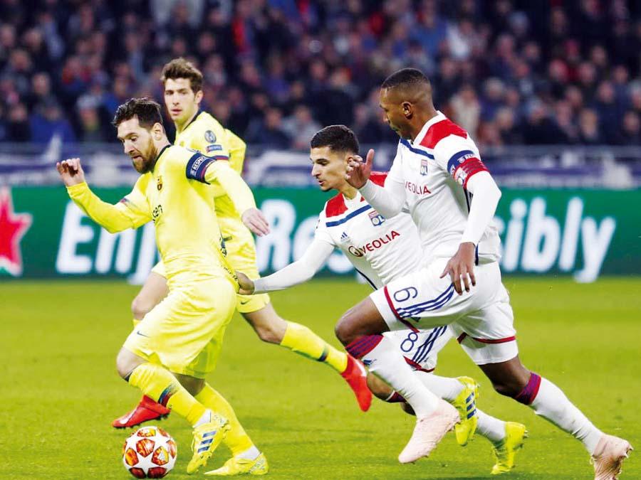 Olympique de Lyon y Barcelona