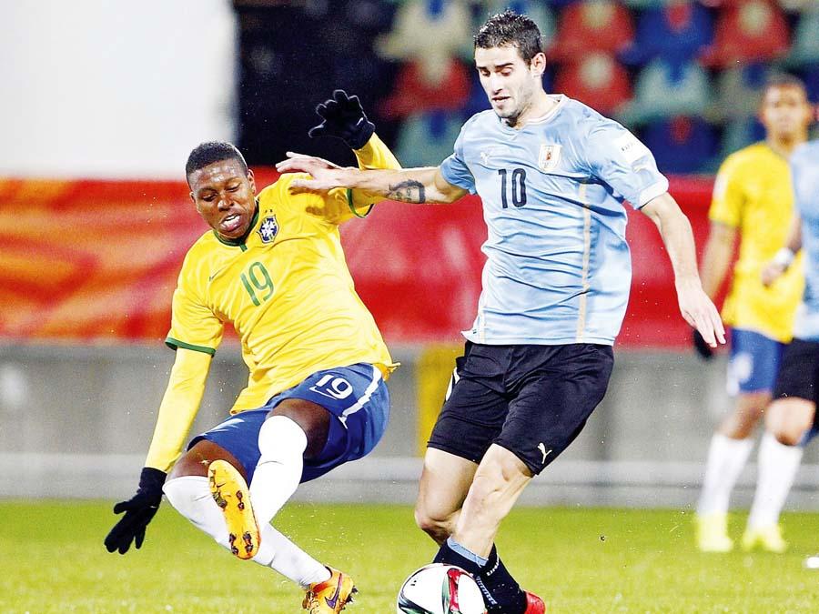 Selección de Brasil intentará recuperarse a Uruguay