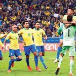 Brasil clasificó a semifinales de la Copa América tras eliminar por penales 4-3 a Paraguay
