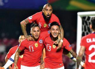 Chile goleó 4-0 a Japón