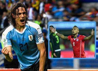 Chile y Uruguay se enfrentan esta tarde, el ganador será rival de la bicolor en cuartos de final