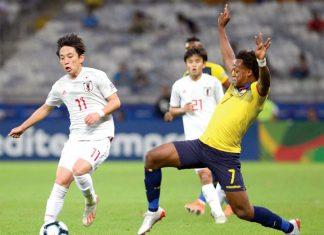 Ecuador y Japón empataron a uno, ambos se eliminaron