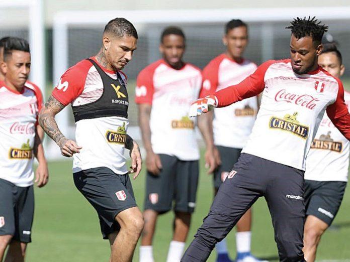 Selección peruana en Brasil