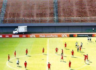 Selección peruana entrenamiento