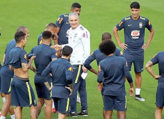 Tite y selección de Brasil