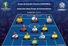 CONMEBOL - Once ideal