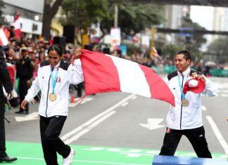 Gladys Tejeda y Christian Pacheco, ganadores de las maratones 42K de los Juegos Panamericanas Lima 2019