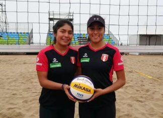 Lisbeth Allca y Alexandra Mendoza