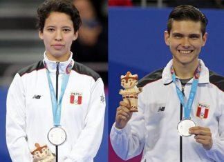 Marcela Castillo y Hugo del Castillo quedaron segundos en taekwondo poomase