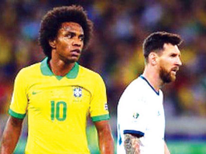 Willian respondió a Lionel Messi