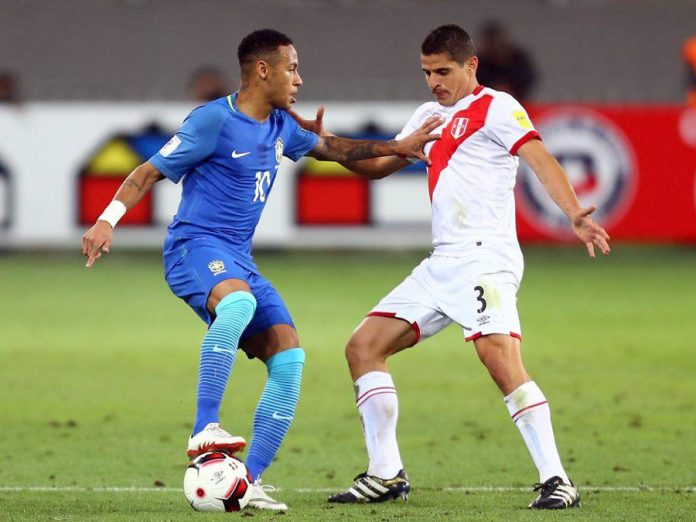 Aldo Corzo y Neymar