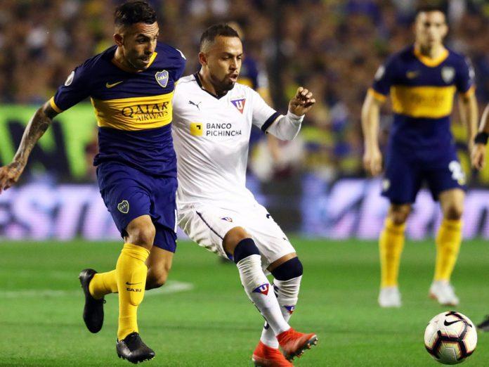 Boca Juniors empato 0-0 ante LDU de Quito