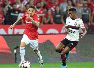 Con Paolo Guerrero, Inter empató 1-1 ante Flamengo y quedó eliminado de la Libertadores