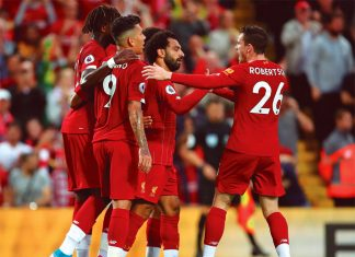 Liverpool goleó 4-1 a Norwich City