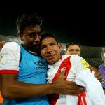 Miguel Araujo y Edison Flores