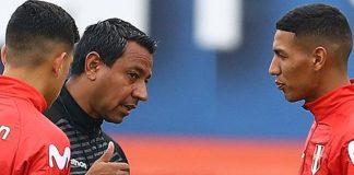 Nolberto Solano, técnico de la selección peruana
