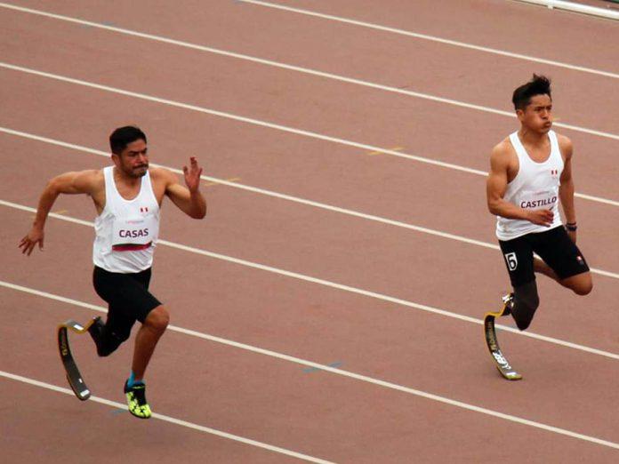 Paraatletas nacionales Jesús Castillo y José Luis Casas