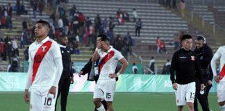 Perú empato 2-2. con Honduras