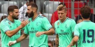 Real Madrid venció al Fenerbahce de Turquía por un categórico 5-3